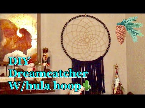 Vlogmas: Hula hoop XL Dreamcatcher DIY