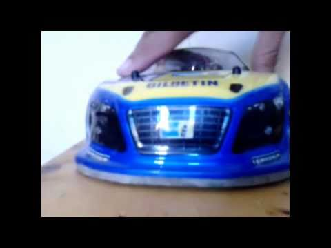 my hommade body kit Rc Car with fiberglass