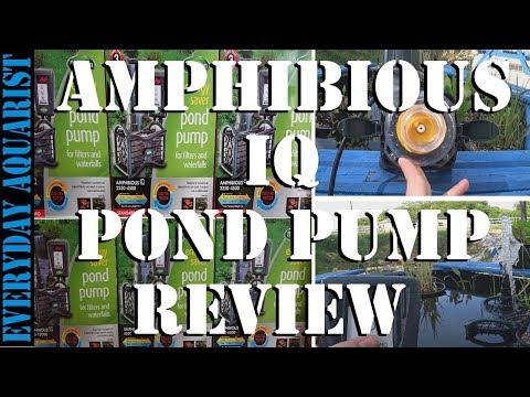 Best Energy Saving Pond Pump | Blagdon Amphibious IQ Review