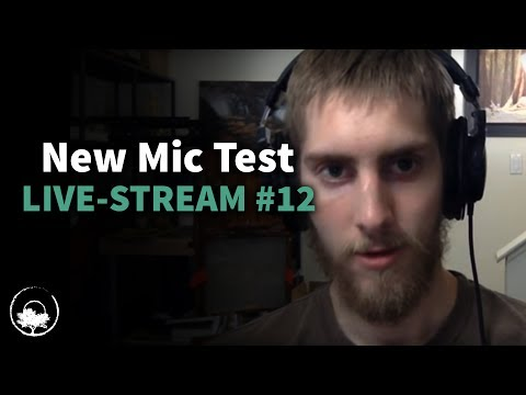 New Mic Test + Q&A's & More   Live-Stream #12