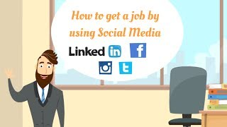 Download How to Get a Job by Using #SocialMedia ? Video