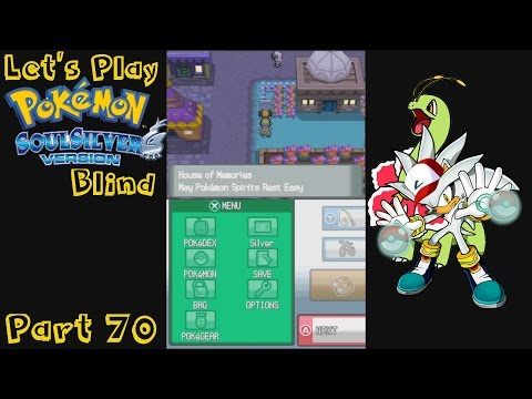 Let's Play Pokemon Soul Silver Blind Part 70: Happy Ghost Town?