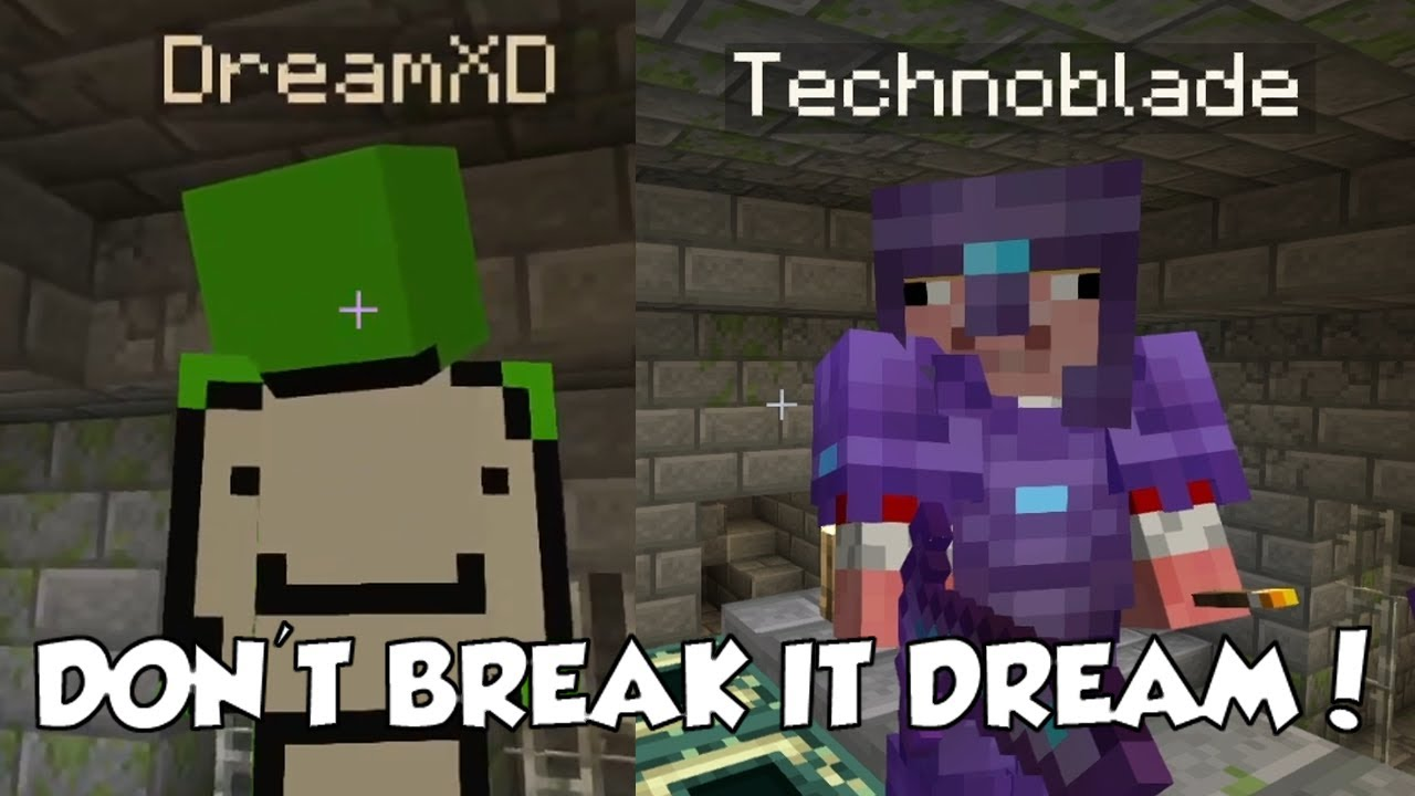 Technoblade FINDS the END PORTAL and Dream DESTROYS IT on The Dream SMP!