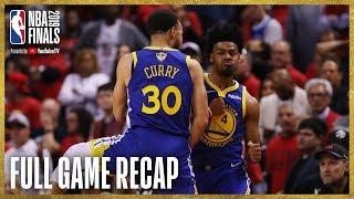 Download WARRIORS vs RAPTORS | Golden State Ties Up The Series! | NBA Finals Game 2 Video