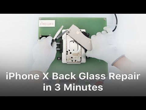 Exclusive - Repair iPhone 8/8P/X Back Glass In 3 Minutes With The New Separator