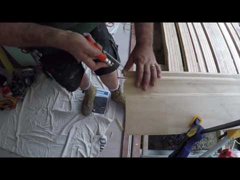 How to do a scribe join for a skirting board