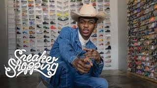 Download Lil Nas X Goes Sneaker Shopping With Complex Video