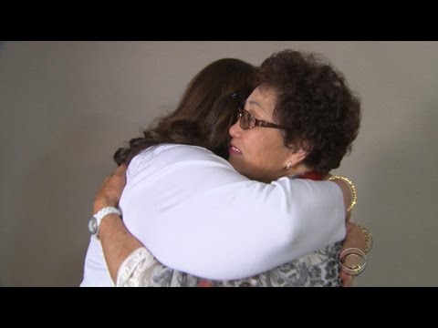 Woman meets birth mother after 50-year wait
