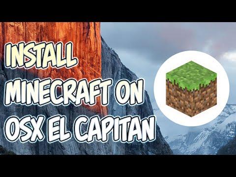 Minecraft | Install Minecraft 1.8.8. on Apple Mac OSX El Capitan