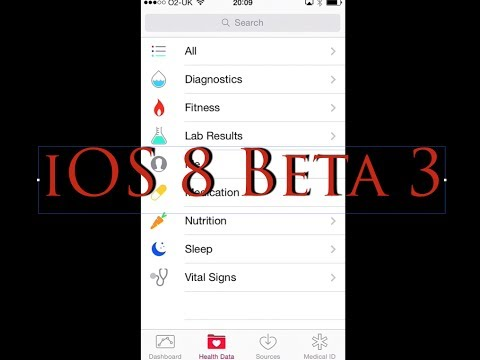 iOS 8 Beta 3. Quick look and Review