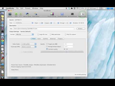 How to Use HandBrake to Copy a DVD to Your iPad