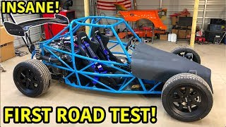 Turning A Salvaged Car Into A Street Legal Race Car Part 10