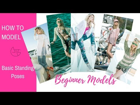 How to Model - Basic Standing Poses