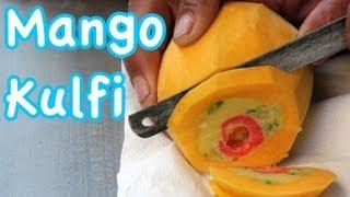 Mango Kulfi - Amazing Indian Ice Cream!