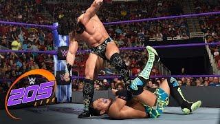 Akira Tozawa vs. Tony Nese: WWE 205 Live, April 18, 2017