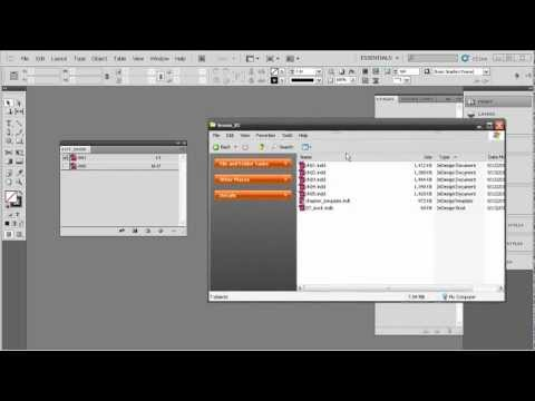 Working with Long Documents in InDesign CS5 - Creating a basic book file