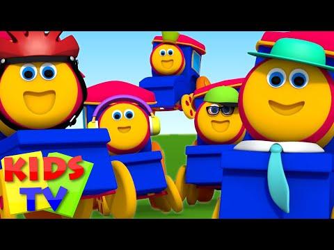 Bob The Train | Five Little Babies | Nursery Rhymes | Kids Nursery Rhymes | Kids Tv Bob The Train