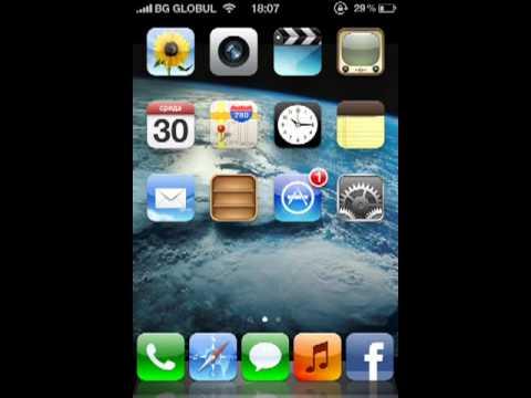 Adding widgets to Apple iPhone4