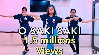 BATLA HOUSE | O SAKI SAKI - Bollywood Zumba Dance Video | Nora FATEHI | NEHA KAKKAR