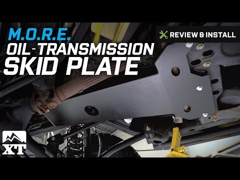 Jeep Wrangler M.O.R.E Oil/Transmission Skid Plate (2007-2017 JK) Review & Install