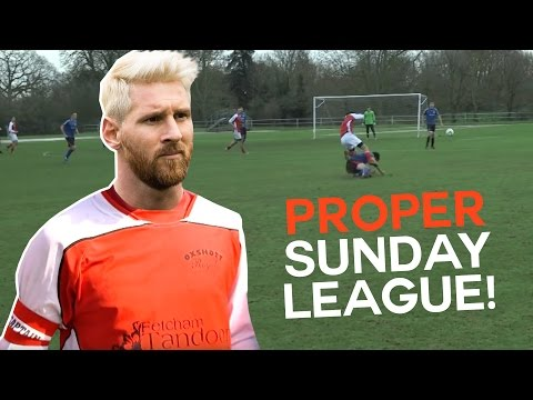 Half-Way Line Wonder Goal! | Sunday League Messi