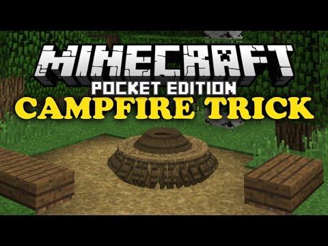 ✔ Campfire Trick - Minecraft PE
