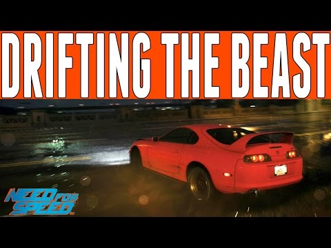 Need For Speed 2015 Drifting : TOYOTA SUPRA DRIFTING GAMEPLAY (DRIFTING FROM COPS)
