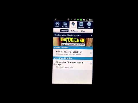 Todays Android App - Movies by Flixster