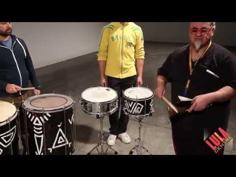 Tamborim, Bell and Shaker for GBE's Samba Reggae