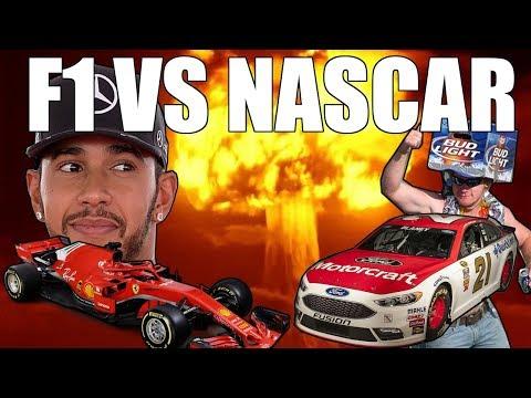 F1 VS NASCAR!