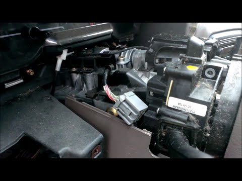 2000 Ford Windstar Turn Signal Switch Removal