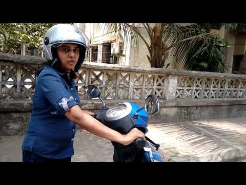 How to ride / balance on Scooty for Beginners