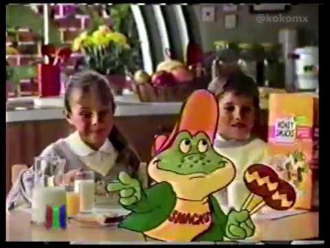 Comerciales 80s - Honey Smacks de Kellogg's