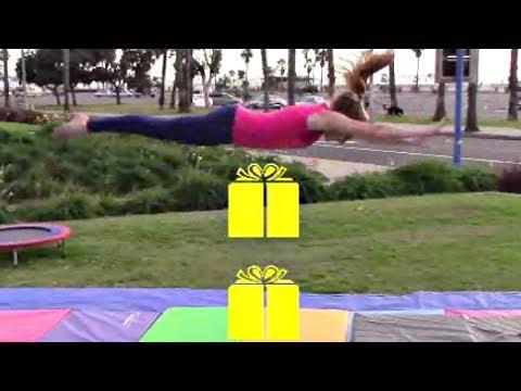 Gymnastics Invisible Box Challenge With Coach Meggin!