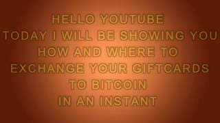 Buy Bitcoin With Various Giftcard E Codes In An Instant Giftcardcredi