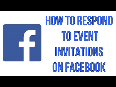 How To Respond To Event Invitations On Facebook