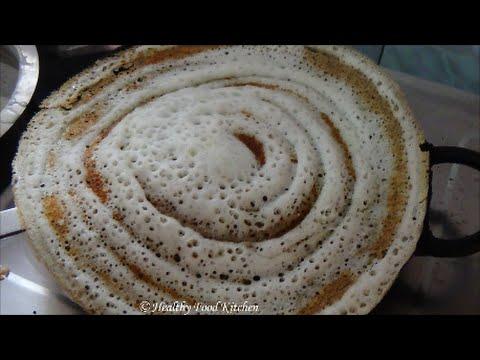 Crispy Small Millet Dosa Recipe-Samai Dosa Recipe-Millet Recipe- Crispy Dosa Recipe in Tamil