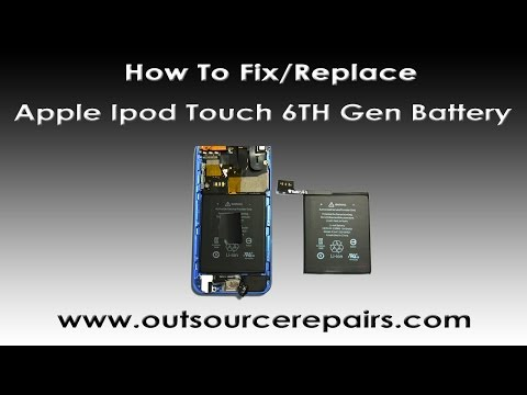 How To Fix Replace Apple Ipod Touch 6TH Gen Battery