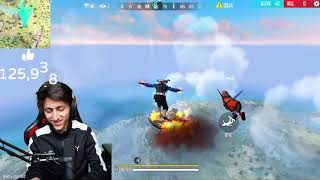 Flying 10,000 Meter In Air With Unlimited Glow Walls || Magic In Free Fire - Garena Free Fire