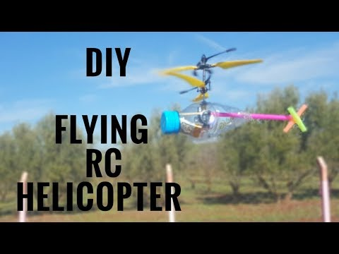 DIY: How To Make Flying RC Helicopter at Home