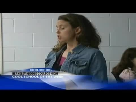 Cool School 2013- Berkeley County Middle College High