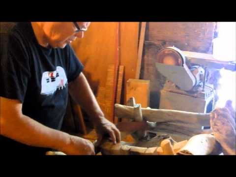 Making two Driftwood chairs with music 'Olives and Grapes'