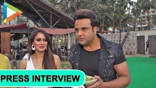 WATCH: Krishna Abhishek, Mugdha Godse talk about their movie Sharmaji Ki Lag Gai