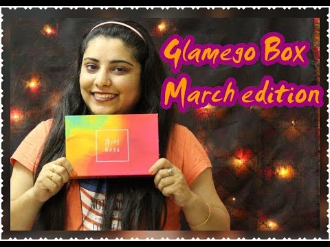GlamEgo Box: March 2018 _ *BIRTHDAY EDITION*   Perfect Gift for Her Glamorous We
