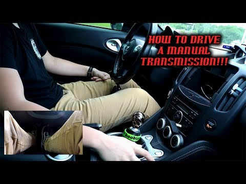 How to drive a manual transmission vehicle (370z)