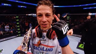 Joanna Jedrzejczyk Looks Back at Winning Strawweight Title at UFC 185
