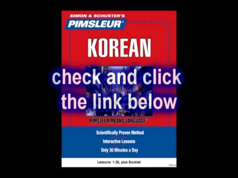 Learn how to speak korean as easy as ABC-Lesson 1