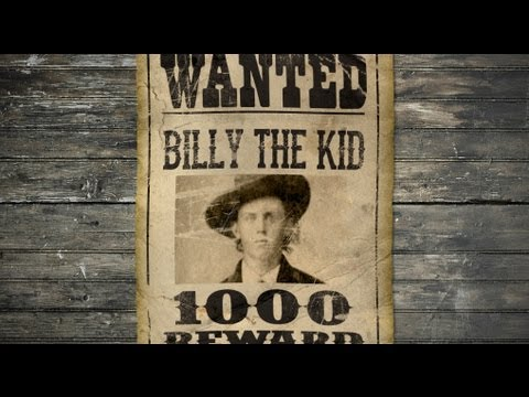 Photoshop Tutorial: How to Make a Vintage, Wild West, WANTED Poster