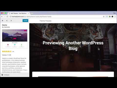How To Install a WordPress Theme #10