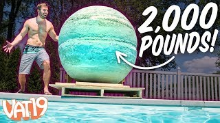 Download We Made the World's Largest Bath Bomb! Video
